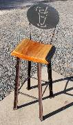 Rustic-coffee-stool